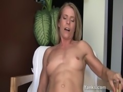 Blonde Skyla Toying Her Pussy And Ass free