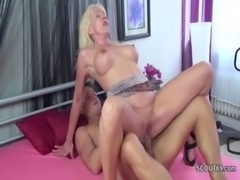 Step-Mother Seduce Step-Son to Fuck when Dad is Away free