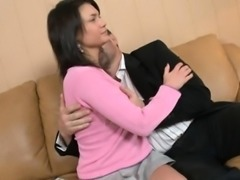 Blameless darling is seduced by an old and horny teacher