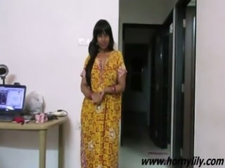 Indian Babe Lily Sexy Interview free