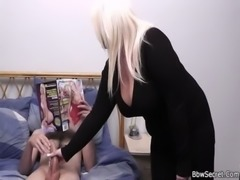 Busty blonde and husband caught cheating free