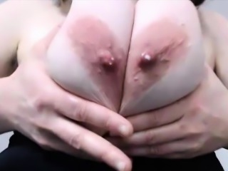 Squirting hairy chubby mommy with huge boobs
