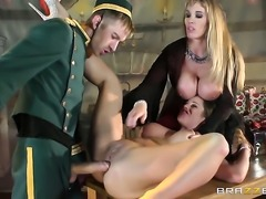 Danny D is horny as hell and cant wait any longer to drill yummy Cathy...