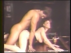 Peter North fucked busty Buffy Davis in the ass