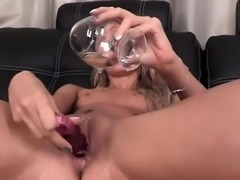 Alina Bell crawling on a piss wet floor naked