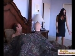 Mad cougar cant say no to a big hard cock free