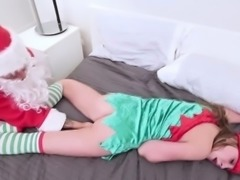 Tiny teen elf gets fucked