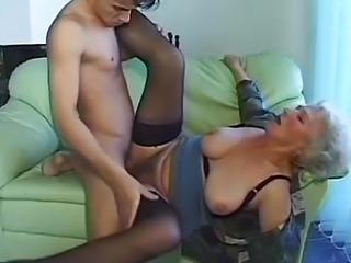 """Mature amateur gets her pussy slammed"""
