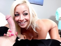 Awesome blow job by lovely Ivy Stone