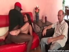 Cuckold pervert watches milf getting fucked free