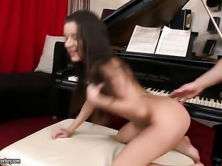 Anita Bellini is getting an anal gangbang