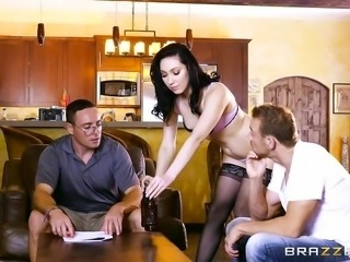 """Cock hungry Aria Alexander is a bad ass wife"""