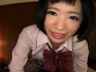 An Adorable Japanese School Girl