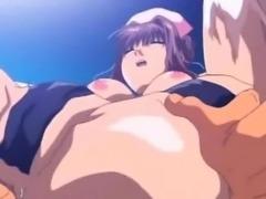 Hentai nurse fucked in tight pussy cums hard