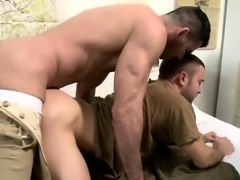 Horny captain Billy rams his dick on Colt tight hole