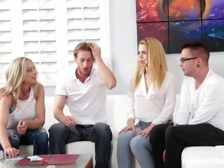 """""""Pretty blonde Alina West fucked by her step brother"""""""