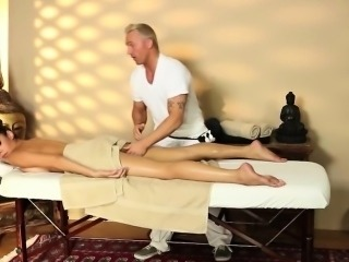smart busty babes in secret massage saloon