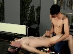 Emo gay bondage free porn Wanked And Waxed To The Limit