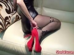 Cum on My Canadian Feet!! MILF Shanda Fay!! free