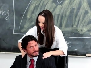 InnocentHigh - School Girl Desperate For Teacher\'s Cock