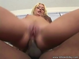 First Time Anal BBC Cheating Housewife