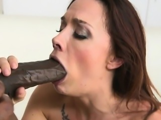 Lusty Bitch Chanel Preston Gets Drilled And Jizzed On
