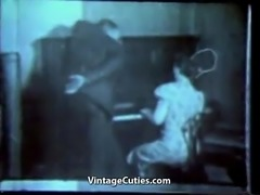 Piano Teacher gets Laid Today (1940s Vintage)