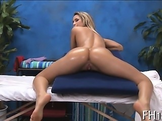 Beautiful all natural drilled by massagist