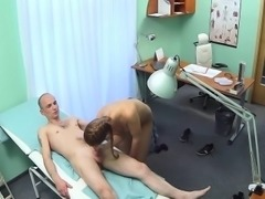 Nurse fucks her old professor in hospital