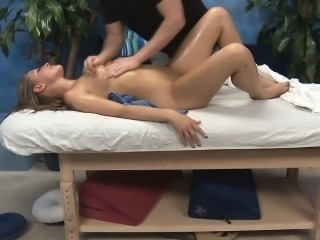 Wicked babe bonks and gives a massage!