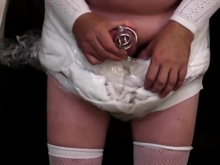 diapered sissybaby wetting diaper
