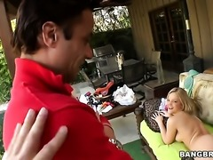 Blow job from Alexis Texas