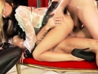 Glamcore facefucked european sluts doublepenetrated