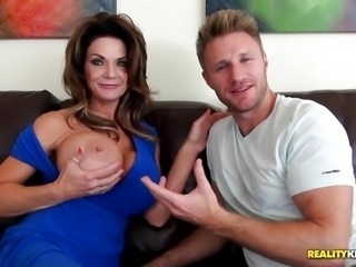 """Pussy pie mom Deauxma drilled deep"""