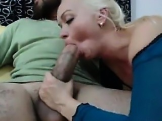 Blonde Enjoying Some Big Dick