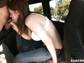 Blake West gets down and dirty in cum flying action