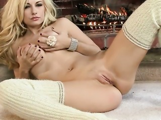 Danielle Trixie makes her sexual fantasies a reality in solo action