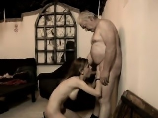 Young girls and older man porn movies She even climbs his la