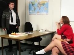 Fetish schoolgirls tug