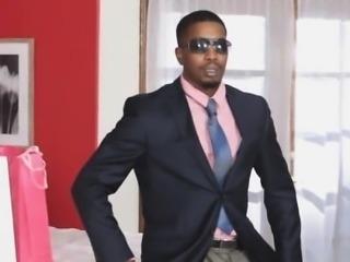 Secretary loves bosses big black cock