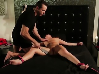 Maddy OReilly strips down to her bare skin and fucks herself with sex toy