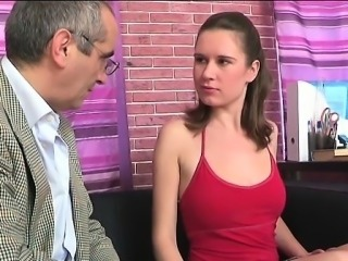 Babe needs to comply with old teacher excited demands