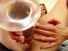 Kianna Dior likes to play with her shaved pussy and her huge tits. The Asian...