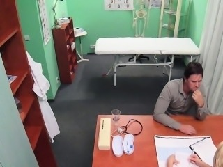 Hot nurse solves penis problems