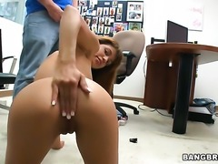 Redhead sexy Veronica Rodriguez believes that fresh cum gives her sexual energy