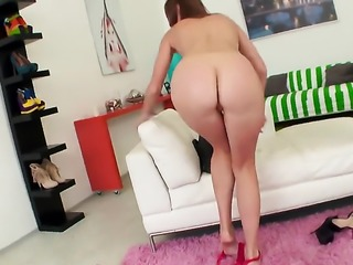 Ariadna big head like no other and hard dicked fuck buddy knows it