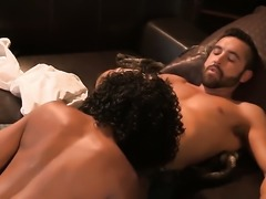 Misty Stone is good at worm sucking and loves it