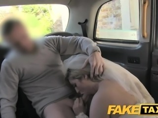 Fake Taxi Runaway bride needs big cock