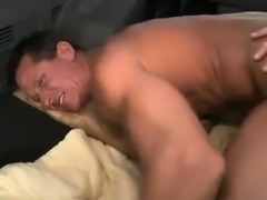 Twink gives blowjob to gay man at adult book store first tim