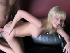 Fascinating babe demonstrates her prowess for the camera